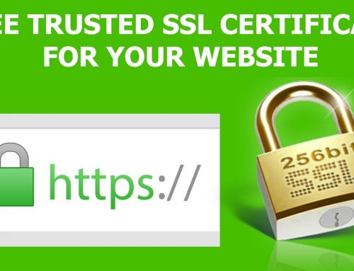 Free SSL certificate? Yes it is possible!